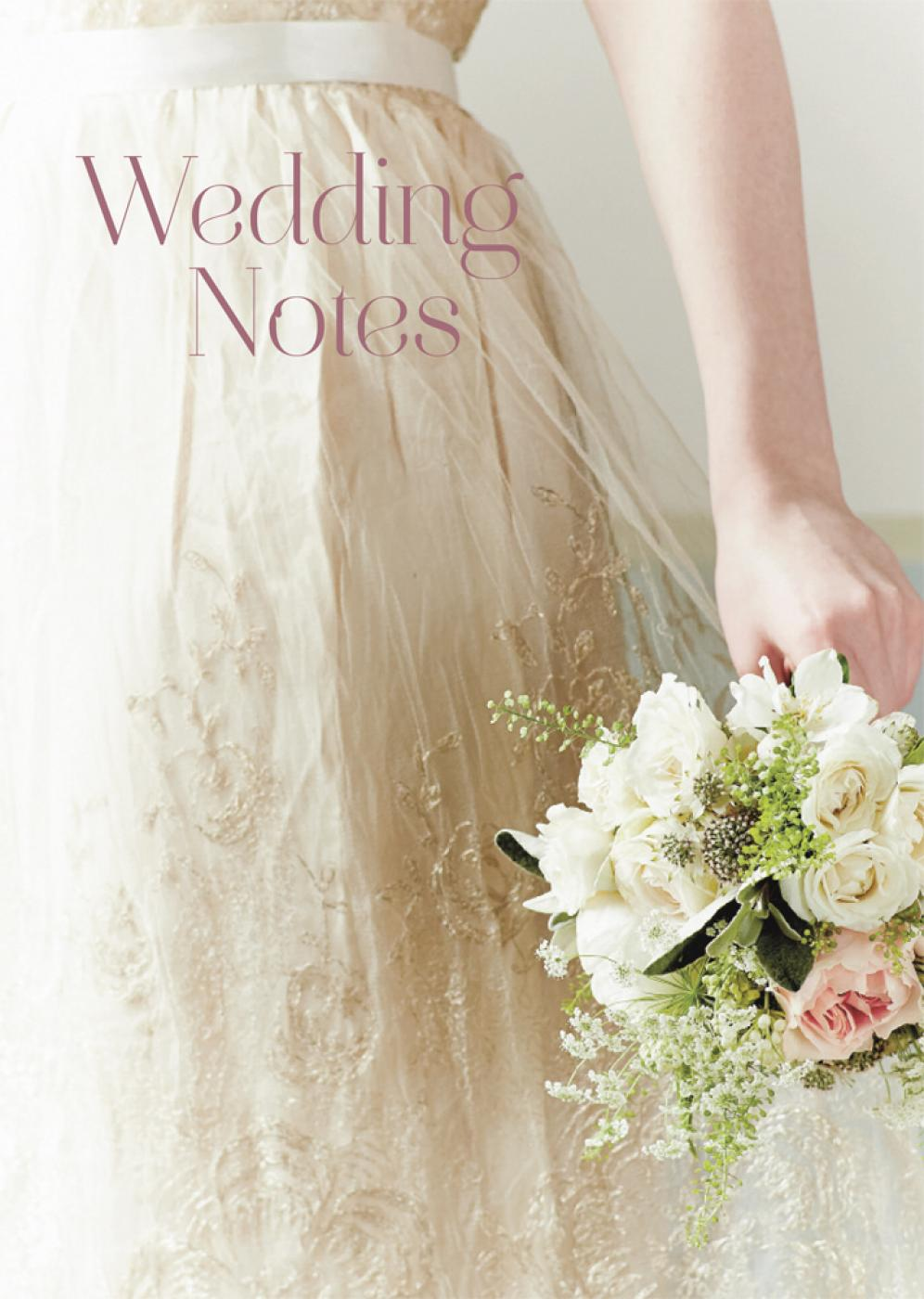 Wedding Notes ISBN: 9781849756419
